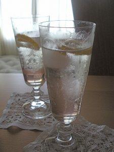 A twist of Meyer lemon mimics the lemony fragrance of my favorite lavender roses.