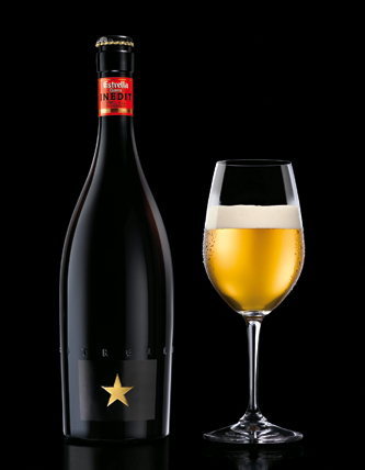 Estrella Damm INEDIT, a beer from Spain, is touting itself as the first beer designed to pair with food. (Courtesy photo)