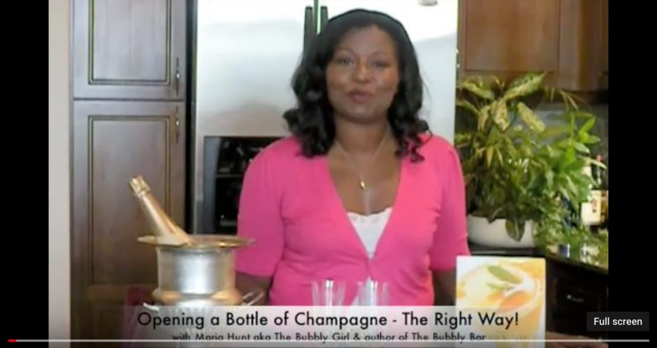 How_to_open_champagne_video