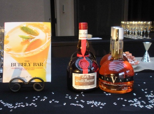 Grand Marnier and Navan Cognac make a delicious version of The Stiletto from The Bubbly Bar. (Photo by Maria C. Hunt)