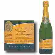 This cremant from Burgundy is French, eminently drinkable, and $10 at Trader Joe's.