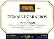 The Domaine Carernos Brut is a perfect marriage of California and France, with its fresh fruit balanced by toastiness.