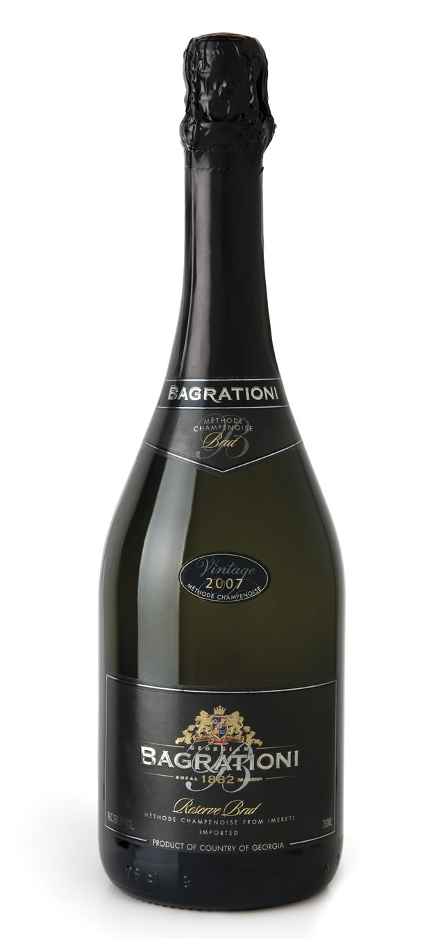 Bagrationi 1882 Reserve tastes just like champagne crafted from chardonnay - but it's from Georgia.