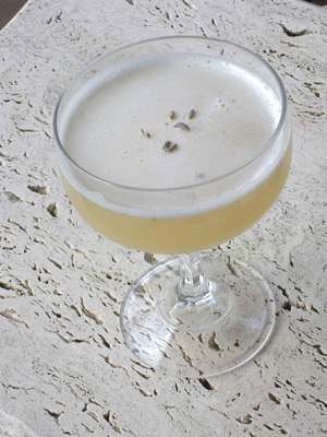 The Bee Charmer tempts with honey, lemon, lavender and a bit of bubbly.