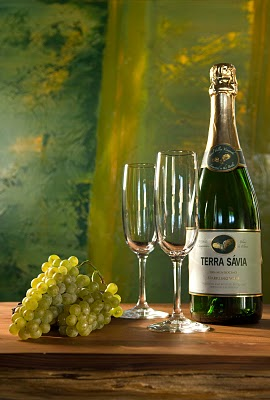 Terra Savia's Blanc de Blancs is just one of the many sparkling wines from organic grapes on the market today. (Courtesy photo)