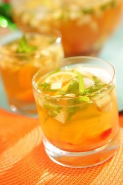 Sangria means anything you want it to; in late spring mix up a pitcher of this Apricot White Cherry Sangria.