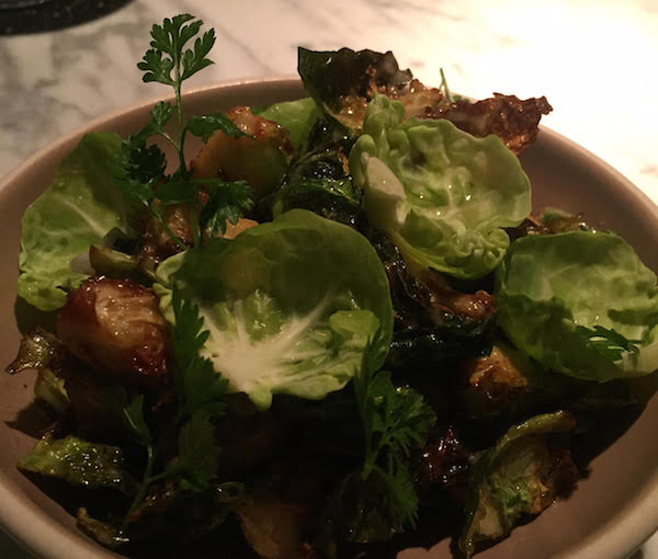 brussels sprouts with chervil CDP
