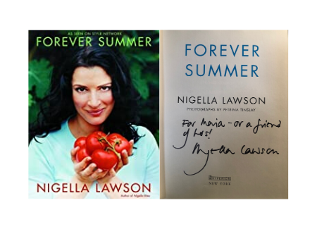 Nigella Lawson forever summer book